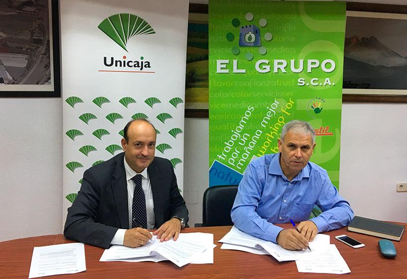 El Grupo y Unicaja rubrican nueva financiación