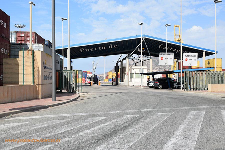 Los contenedores del puerto de Cartagena desembarcarán en Berlín
