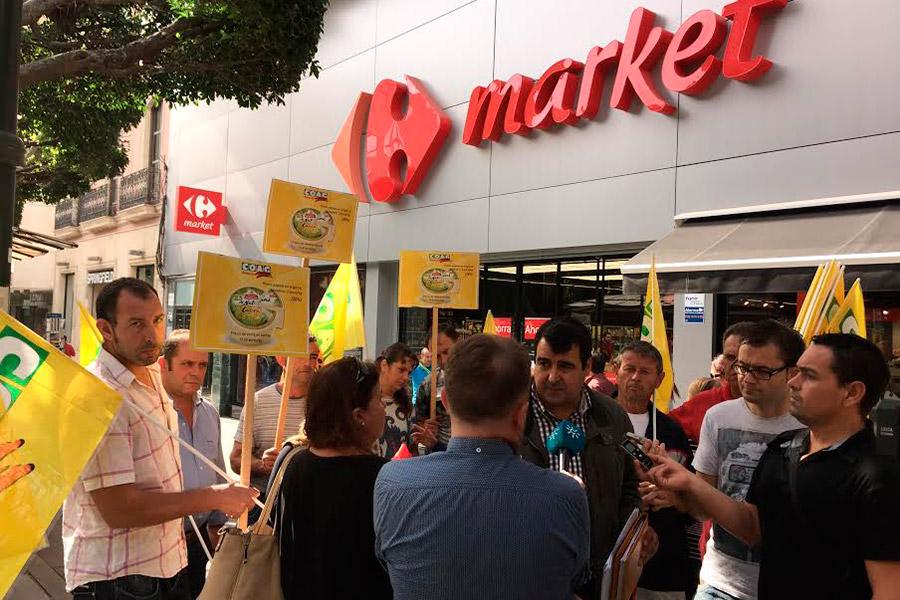Protesta sector-caprino