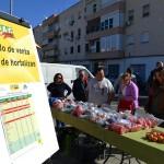 Venta directa de hortalizas de Coag a las puertas del Lidl