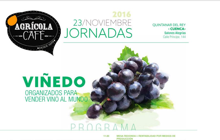 Día 23 de noviembre. Jornada Viñedo, Organizados para vender al Mundo. Cuenca