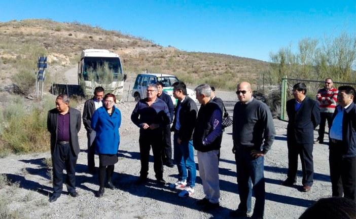 Una delegacion china de Ningxia recorre Almería