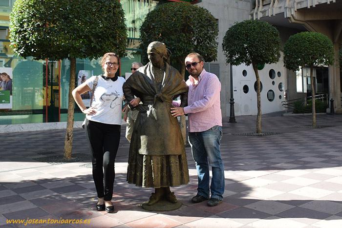 Estatua de Dulcinea en Ciudad Real.