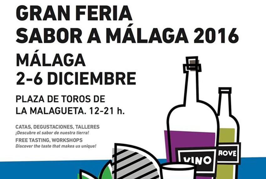 Del 2 al 6 de diciembre. Gran Feria Sabor a Málaga