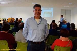 Alfonso Reche, técnico-comercial de Pelemix.