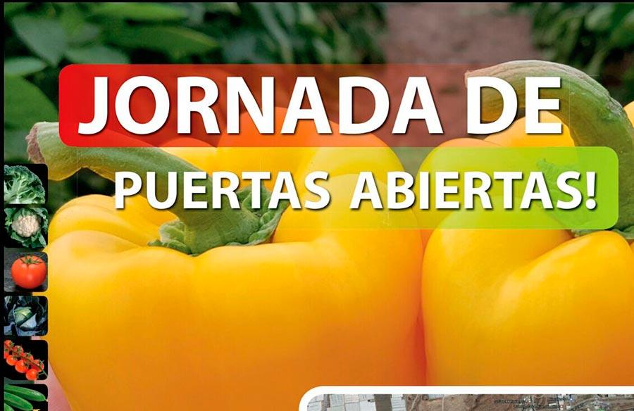Día 21 de diciembre. Jornada de pimiento california de agro TIP. Poniente almeriense