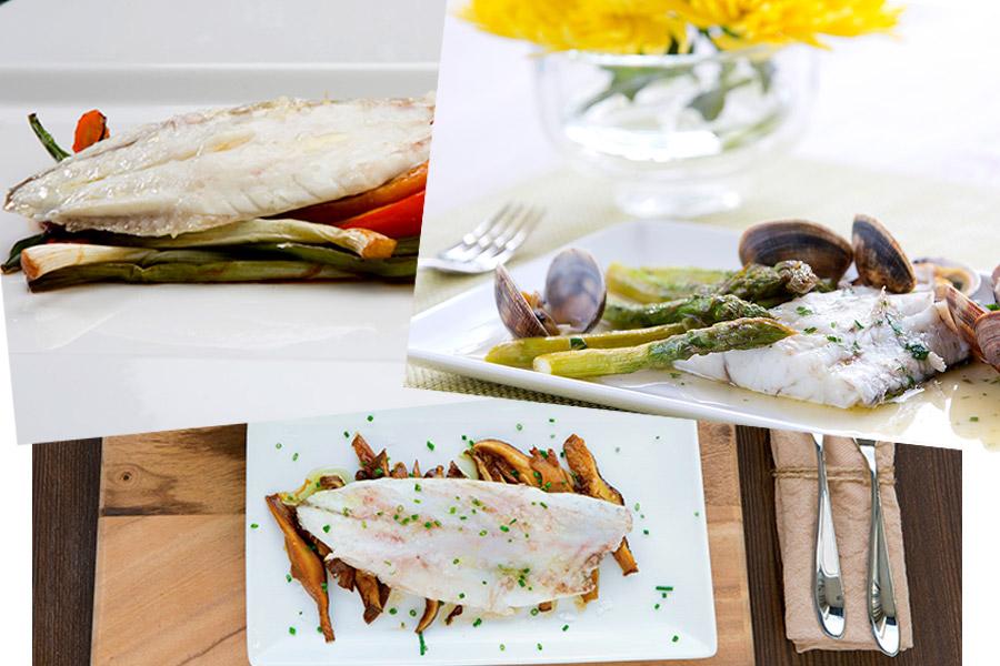 Mar y tierra, recetas culinarias para acabar el año