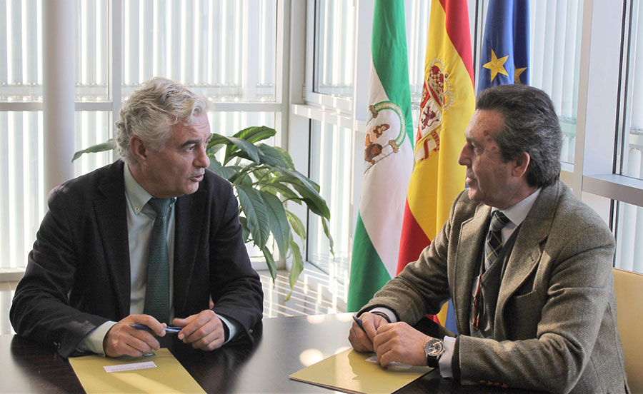 Ifapa e Ingenieros Agrícolas firman un convenio por la I+D