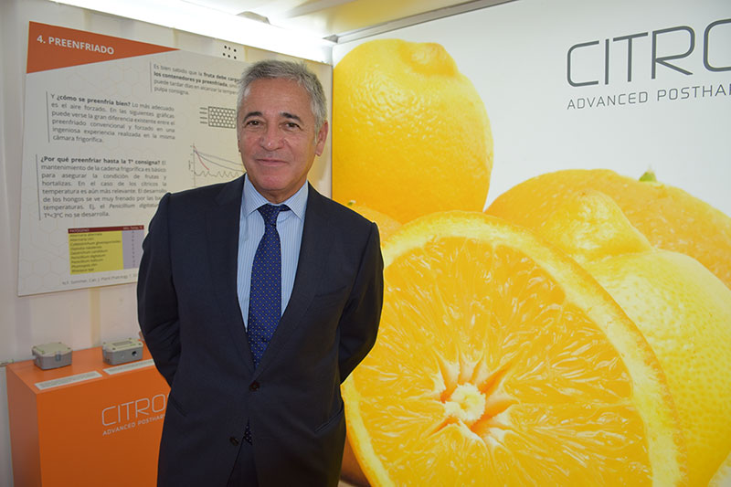 Benito Orihuel, director general de Citrosol.