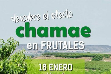 """Día 18 de enero. """"Descubre el efecto Chamae en frutales"""". Huesca"""