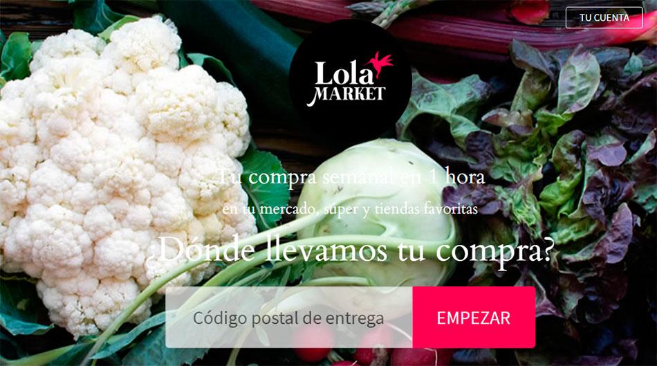 Lola Market, supermercado por Internet, venta online