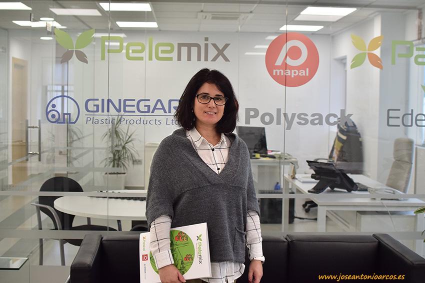 Marisa Huertas, responsable técnico del nuevo departamento de I+D+i de Pelemix.