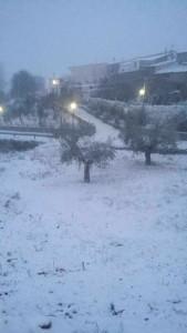 Tahal nevada, Almería enero 2017. Sierra de Los Filabres.
