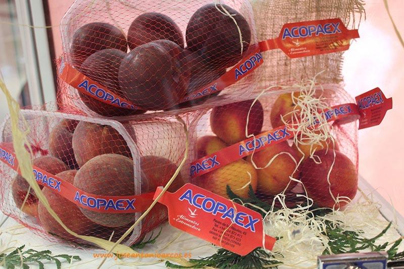 Fruta de hueso de Extremadura.