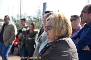 Asamblea de agricultores contra los bajos precios en la explanada del Estadio de los Juegos Mediterráneos de Almería.