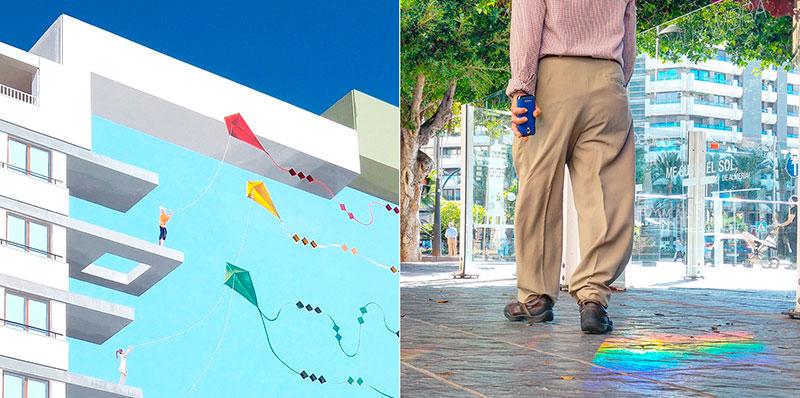 'Diálogos' es una obra fotográfica del diseñador almeriense Cristóbal Carretero Cassinello. Obra expuesta en el CAF de Almería, Centro Andaluz de Fotografía.