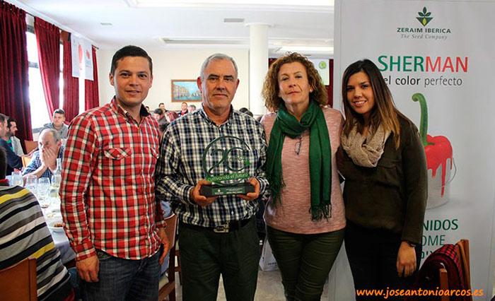 Miguel Pérez y su mujer con Lidia Martín y José Antonio Arellano (Zeraim).