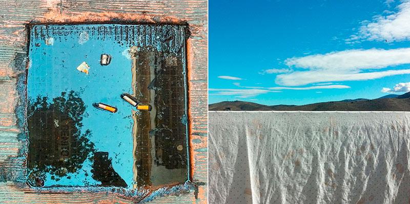 Fotografías del diseñador almeriense Cristóbal Carretero Cassinello en el Centro Andaluz de Fotografía (CAF) en Almería. Arte