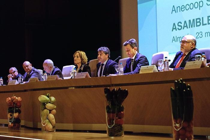 La Universidad de Almería ha acogido este jueves la Asamblea General de Anecoop.