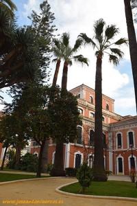 Jardines de la Casa de Colón en Huelva.