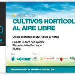 Día 28 de marzo. Jornada 'Cultivo hortícolas al aire libre'. Murcia