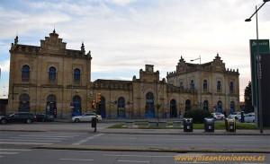Estación de ferrocarril de Huelva.