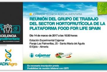 Día 14 de marzo. Reunión de grupo de trabajo de la Plataforma Food For Life Spain. Almería