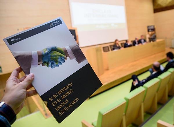 Unicaja. Internacionalización de empresas en el PITA de Almería.