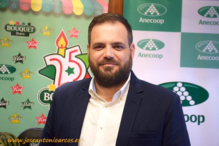 Iván Rodríguez, nuevo director de la Delegación de Anecoop en Almería.