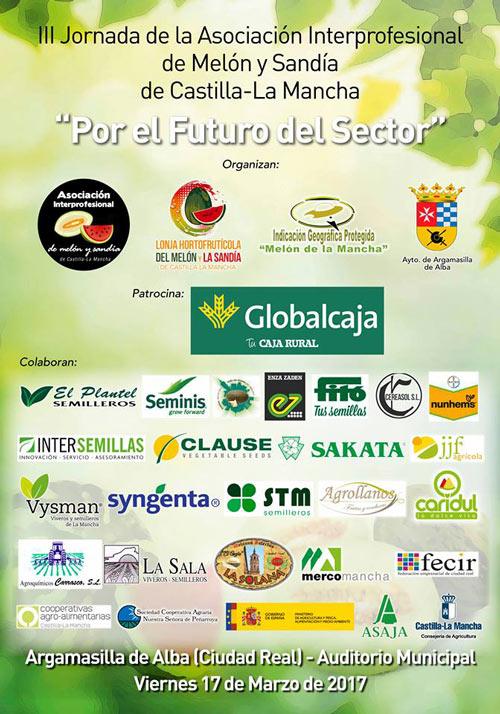 Día 17 de marzo. III Jornada de la Asociación Interprofesional de melón y sandía. Ciudad Real