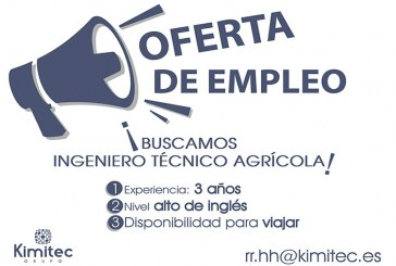 kimitec Group busca Ingeniero Técnico Agrícola