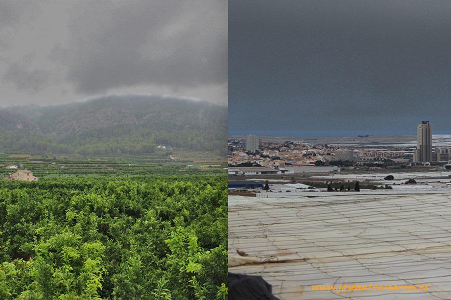 Lluvias en Valencia y Almería.