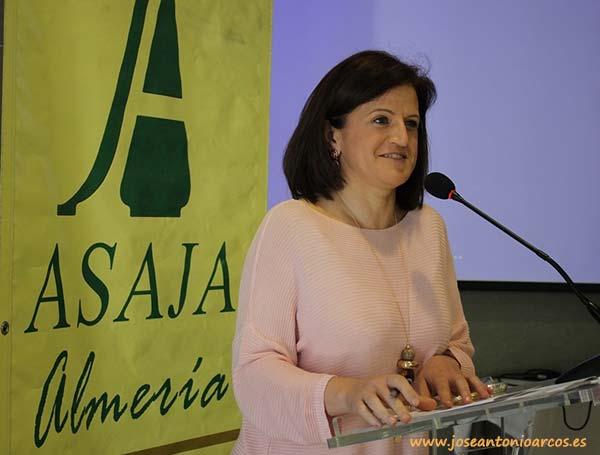 Adoración Blanque, secretaria general de Asaja-Almería.