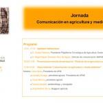 Día 26 de abril. Jornada 'Comunicación en agricultura y medio ambiente'. Madrid