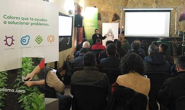 Momento de una de las presentaciones de Digital Crop Care en Marchena (Sevilla)