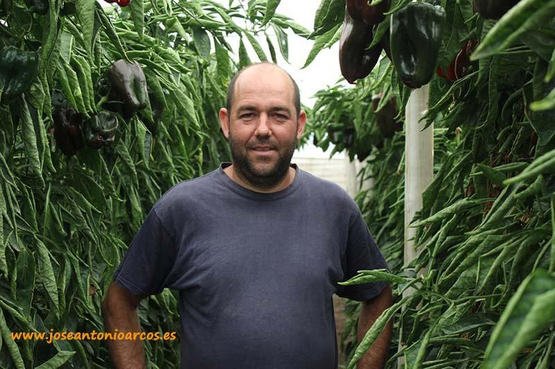 Juan Antonio Castillo en sus lamuyos.