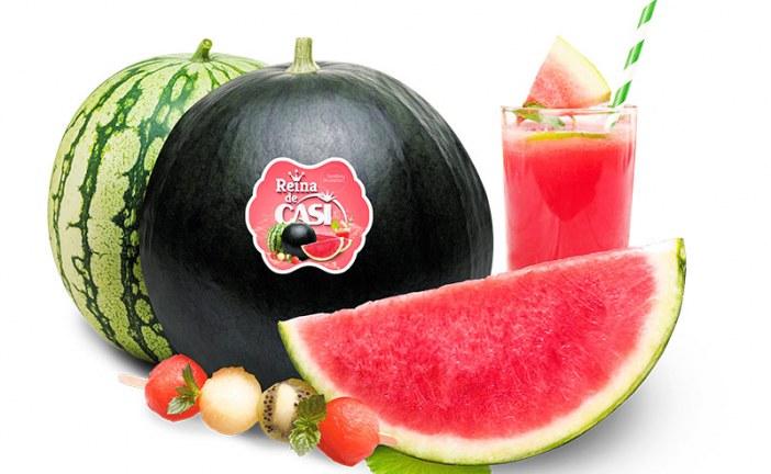 CASI adelanta el verano sandiástico con su melón y sandía