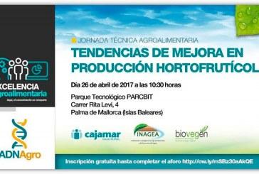 Día 26 de abril. Tendencias de mejora en producción hortofrutícola