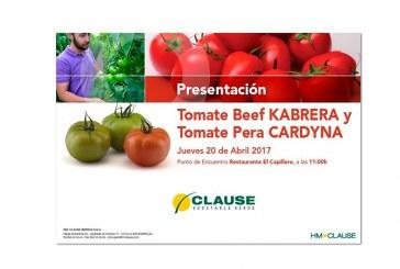Día 20 de abril. Jornada de tomate beef y tomate pera de Clause