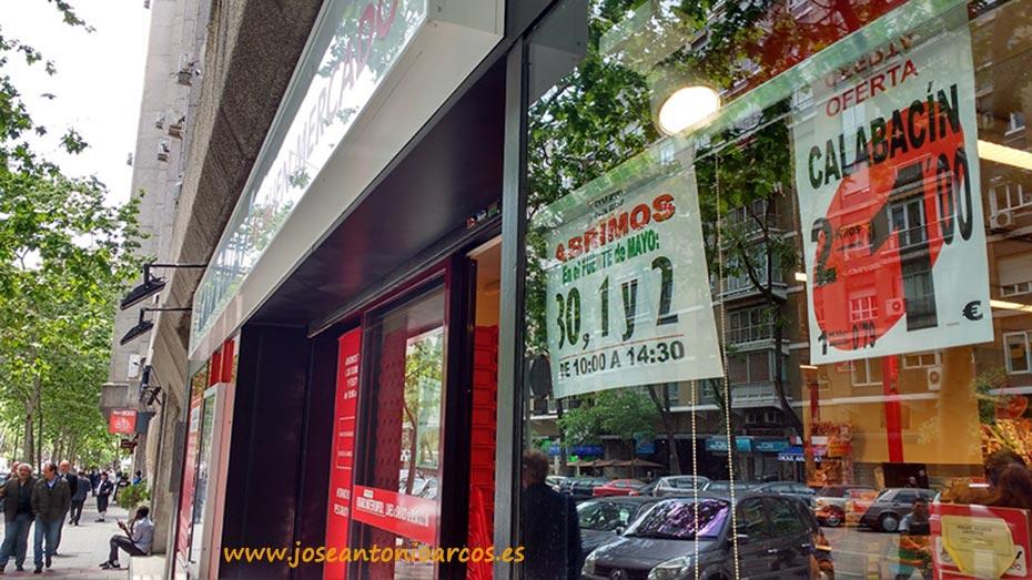 El 2x1 en calabacín en fruterías de Madrid