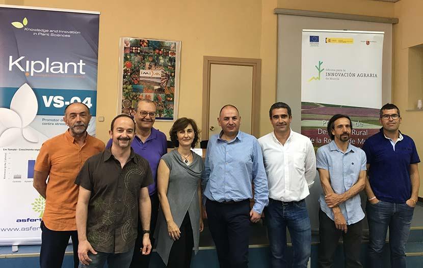 Frutas y hortalizas acaparan el crecimiento del 'eco' en Murcia. Jornada de Asfertglobal