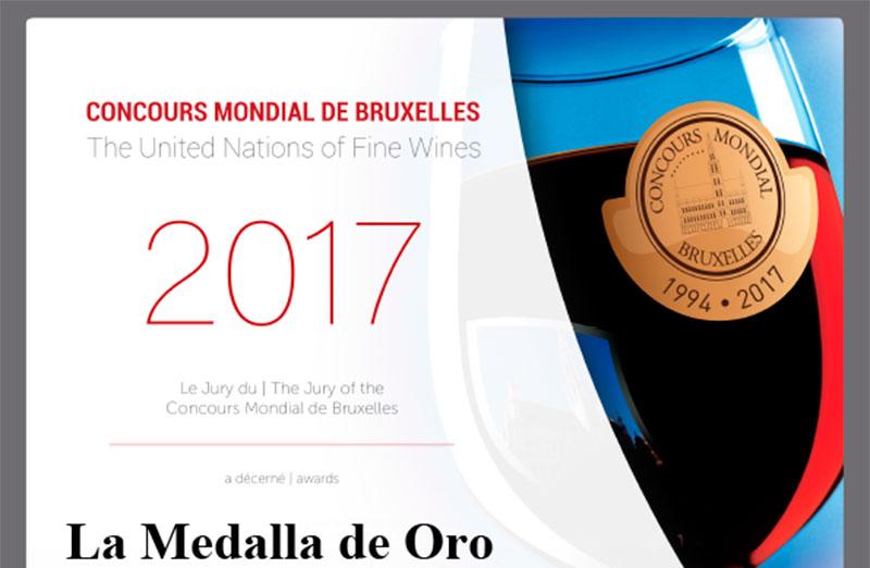 Viñedos Laujar logra el oro en el Concurso Mundial de Bruselas