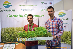 EFA Campomar en la feria InfoAgro Exhibition 2017.