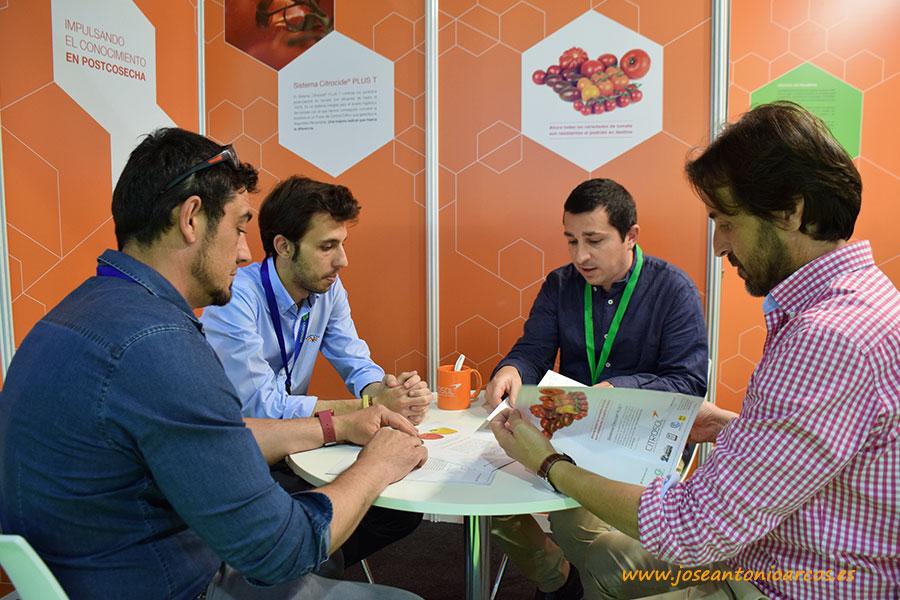 Citrosol hace su puesta de largo en Almería en InfoAgro Exhibition 2017