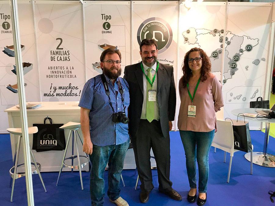 UNIQ, el cartón más sostenible, con Ana Rubio y José Antonio Arcos