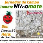 Día 26 de mayo. Jornada de campo de tomate pera de Hazera