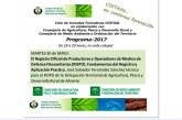 Día 30 de mayo. Jornada sobre el Registro Oficial de Productores y Operadores de Medios de Defensa Fitosanitarios (ROPO)
