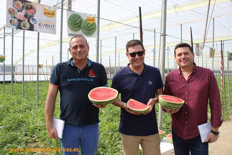 Los Crespos con Paco Marín.