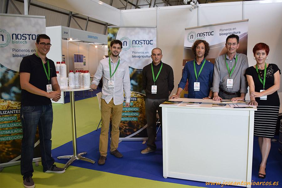 Equipo de Nostoc Biotech en InfoAgro Exhibition 2017.