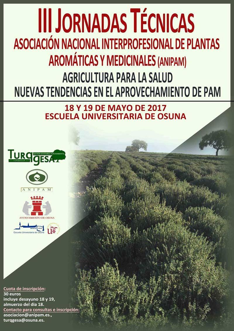 Días 18 y 19 de mayo. III Jornadas Técnicas ANIPAM en Osuna